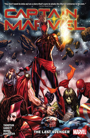 CAPTAIN MARVEL VOLUME 03 LAST AVENGER