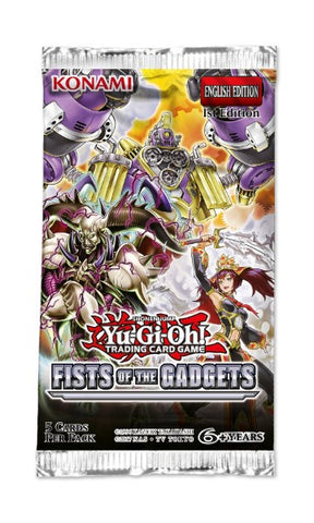 YUGIOH FISTS OF THE GADGETS BOOSTER