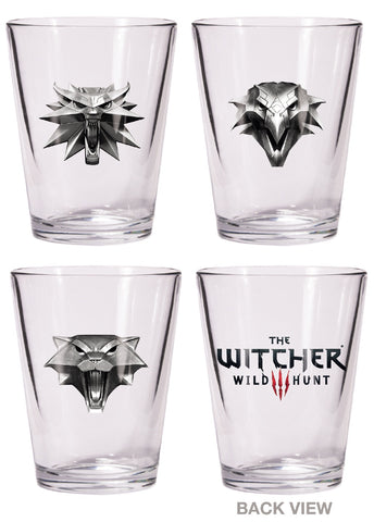THE WITCHER SHOT GLASS SET