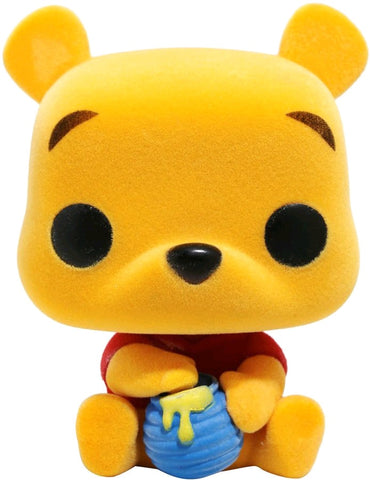 POP! DISNEY: WINNIE THE POOH: POOH SEATED (FLOCKED)