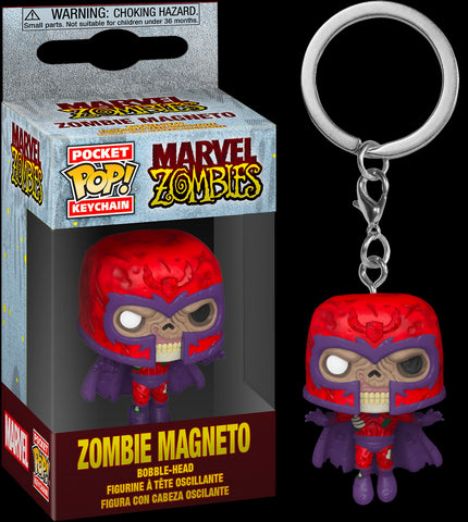 POCKET POP! MARVEL: MARVEL ZOMBIES: MAGNETO KEYCHAIN
