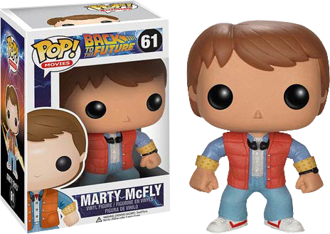 POP! MOVIES: BACK TO THE FUTURE: MARTY MCFLY