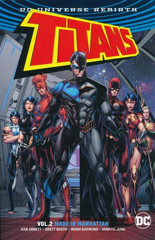 TITANS VOLUME 02 MADE IN MANHATTAN (REBIRTH)