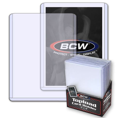 BCW 3 x 4 INCH TOPLOADER