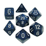 CHESSEX 7 DIE POLYHEDRAL DICE SET: SPECKLED STEALTH