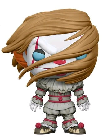 POP! MOVIES: IT : PENNYWISE WITH WIG