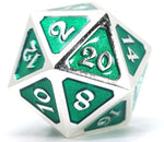 DIE HARD PLATINUM EMERALD METAL D20