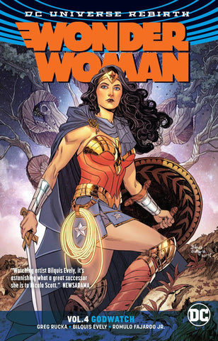 WONDER WOMAN VOLUME 04 GODWATCH (REBIRTH)