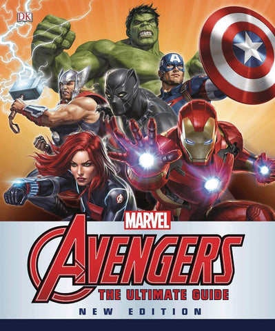MARVEL AVENGERS ULTIMATE GUIDE UPDATED EXPANDED HC