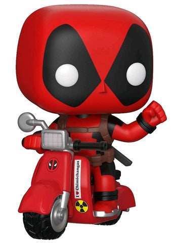 POP! MARVEL: DEADPOOL ON SCOOTER