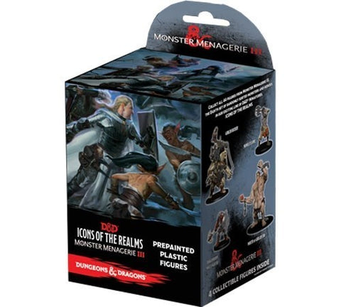 DUNGEONS & DRAGONS ICONS OF THE REALM MONSTER MENAGERIE 3 BOOSTER BOX