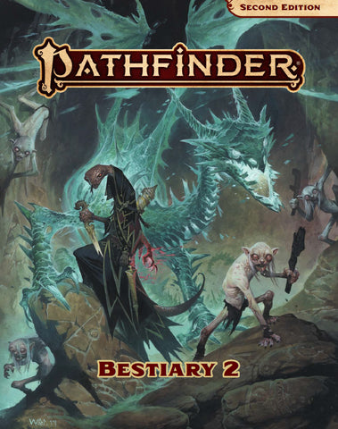 PATHFINDER BESTIARY 2 (2ND EDITION) HC