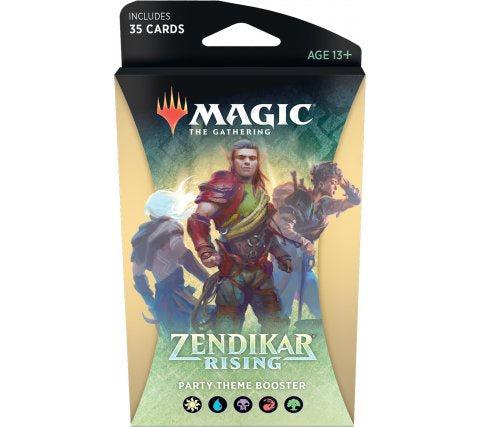 MAGIC THE GATHERING ZENDIKAR RISING PARTY THEME BOOSTER