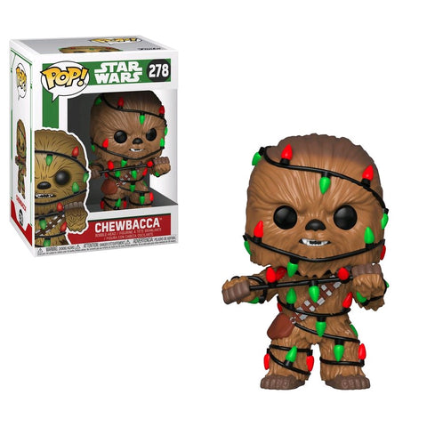 POP! STAR WARS: CHRISTMAS CHEWBACCA