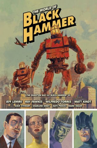 WORLD OF BLACK HAMMER LIBRARY EDITION VOLUME 02
