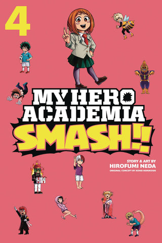 MY HERO ACADEMIA SMASH VOLUME 04