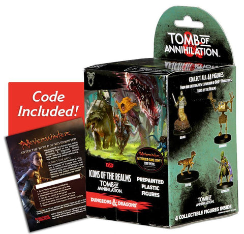 DUNGEONS & DRAGONS: ICONS OF THE REALMS : TOMB OF ANNIHILATION BOOSTER PACK