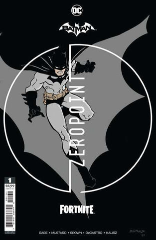 BATMAN FORTNITE ZERO POINT #1 (OF 6) PREMIUM VARIANT DONALD MUSTARD CARD STOCK VARIANT