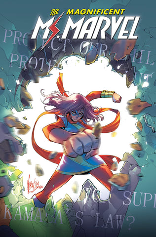 MS MARVEL BY SALADIN AHMED  VOLUME 03 OUTLAWED