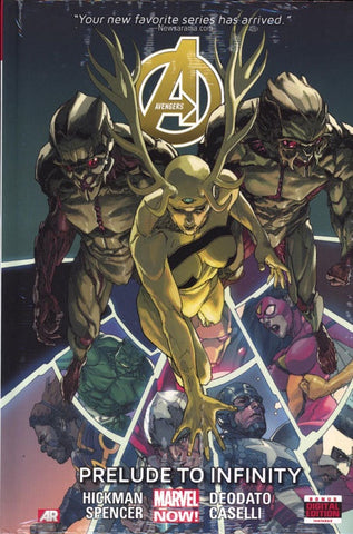 AVENGERS VOLUME 03 PRELUDE TO INFINITY HC