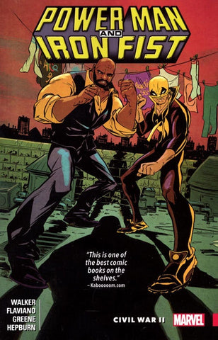 POWER MAN AND IRON FIST VOLUME 02 CIVIL WAR II
