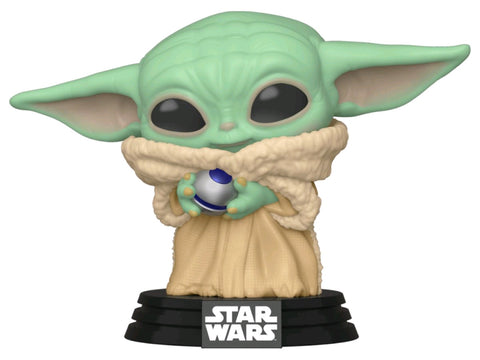 POP! STAR WARS MANDALORIAN: THE CHILD (BABY YODA) WITH CONTROL KNOB