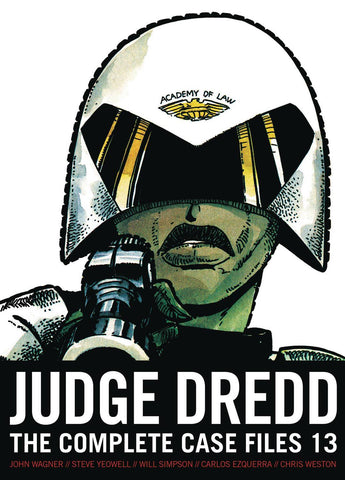 US JUDGE DREDD COMP CASE FILES VOLUME 13