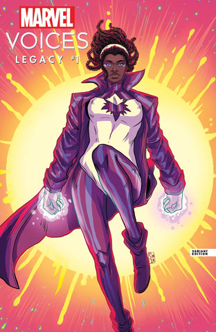 MARVELS VOICES LEGACY #1 SOUZA VARIANT