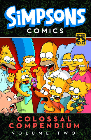 SIMPSONS COMICS COLOSSAL COMPENDIUM VOLUME 02