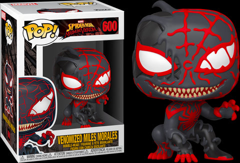 POP! MARVEL: VENOM: VENOMIZED MILES MORALES