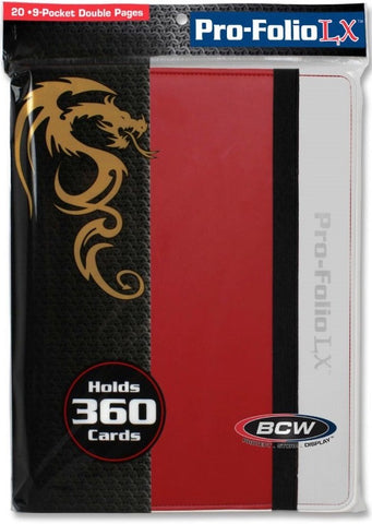 BCW PRO-FOLIO 9 POCKET BINDER