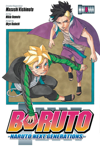 BORUTO VOLUME 09 NARUTO NEXT GENERATIONS