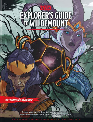 DUNGEONS & DRAGONS EXPLORERS GUIDE TO WILDEMONT HC