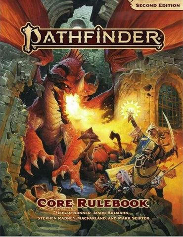 PATHFINDER CORE RULEBOOK (2ND EDITION) HC