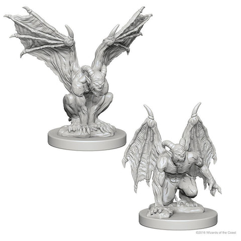 DUNGEONS & DRAGONS NOLZUR'S MARVELOUS UNPAINTED MINI: GARGOYLES