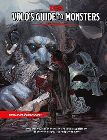 DUNGEONS & DRAGONS VOLO'S GUIDE TO MONSTERS HC