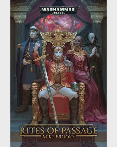 40K RITES OF PASSAGE BY MIKE BROOKS