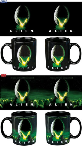 ALIEN EGG HEAT CHANGE MUG