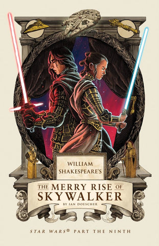 WILLIAM SHAKESPEARE MERRY RISE OF SKYWALKER HC