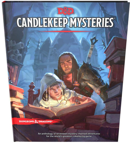 DUNGEONS & DRAGONS CANDLEKEEP MYSTERIES HC