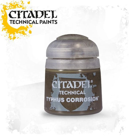 CITADEL TECHNICAL PAINT: TYPHUS CORROSION