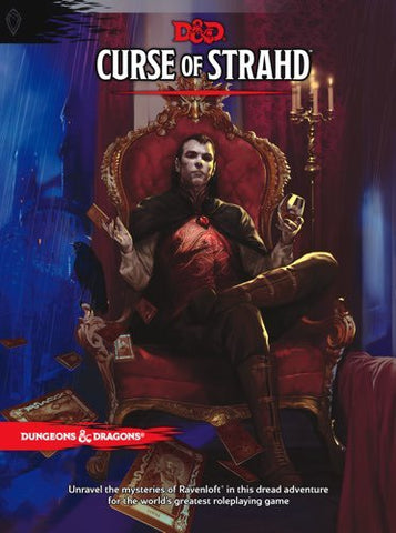 DUNGEONS & DRAGONS: CURSE OF THE STRAHD HC