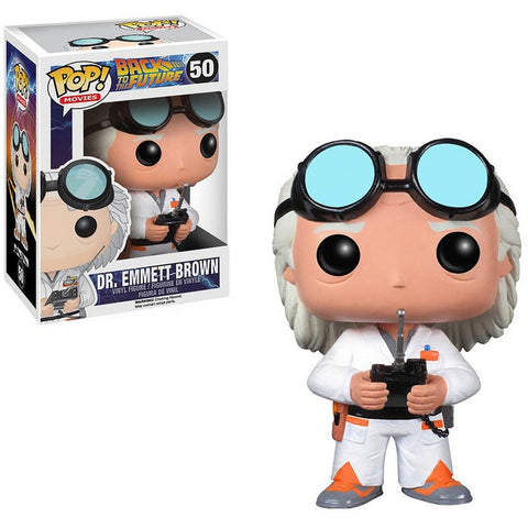 POP! MOVIES: BACK TO THE FUTURE: DR EMMETT BROWN