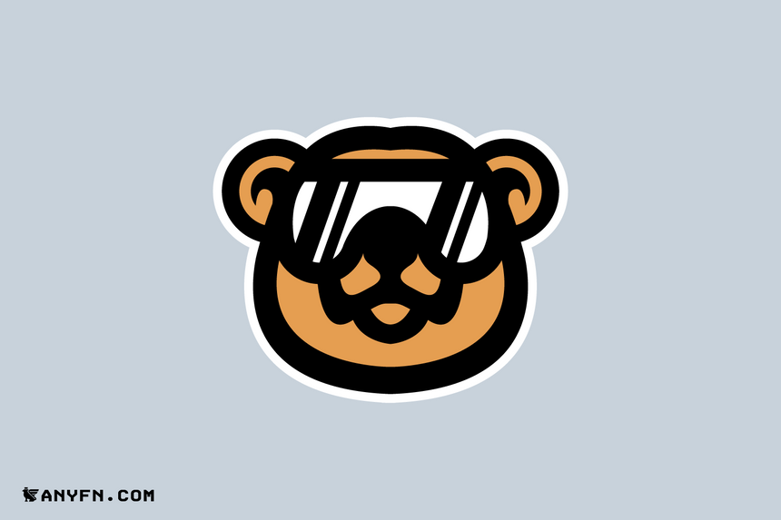 Bear - Premade Logos, Anyfn, Ready-made Logos, Premade Designs, Pre made logos, Premade Graphics, Logo Maker, Logos