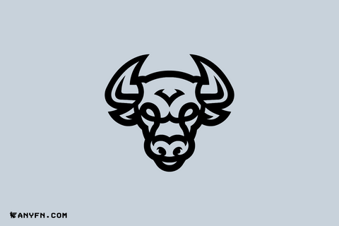 BULL - Premade Logos, Anyfn, Ready-made Logos, Premade Designs, Pre made logos, Premade Graphics, Logo Maker, Logos