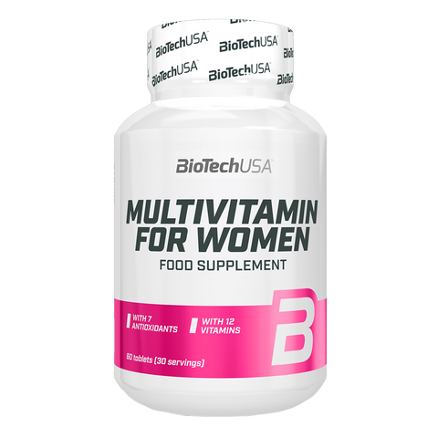 MULTIVITAMIN FOR WOMEN BIOTECHUSA | 30 Serv.
