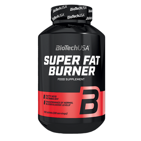 SUPER FAT BURNER BIOTECHUSA | 120 CAPS