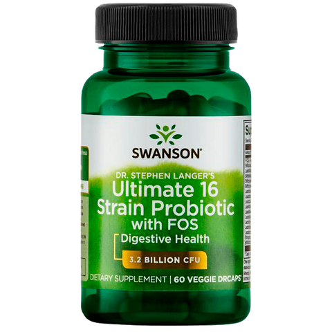 PROBIOTIC ULTIMATE 16 STRAIN  SWANSON | 60 Caps.