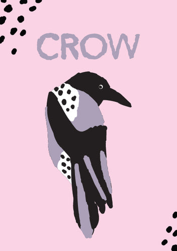Crow - Magic Animal Card