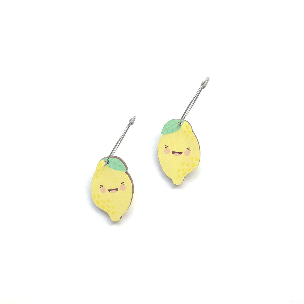 Emoji Fruit - Laughing Lemon